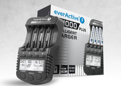 Ładowarka everActive NC-1000 Plus