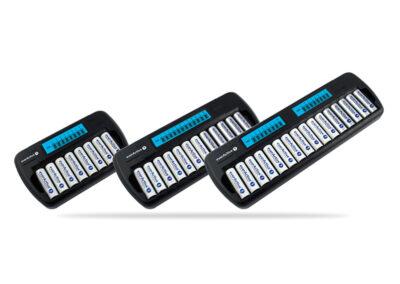Ładowarka akumulatorków Ni-MH everActive NC-800 / NC-1200 / NC-1600